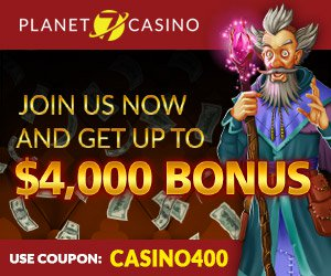 planet 7 casino up to 4000 bonus