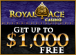 Royal Ace Casino 400 bónus