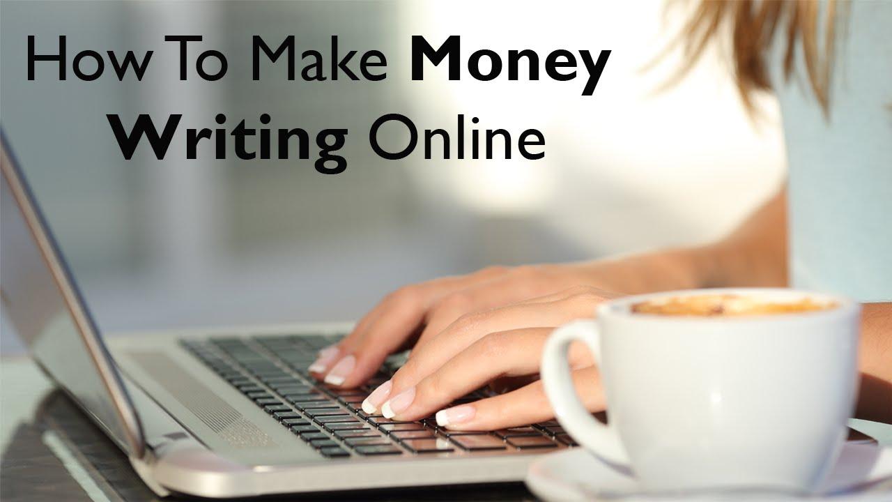çevrimiçi yazarak para kazanın