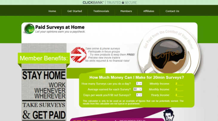 Get paid weekly for surveys