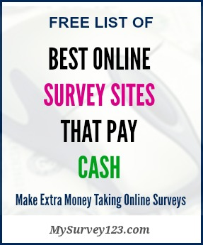 Surveys that pay cash only