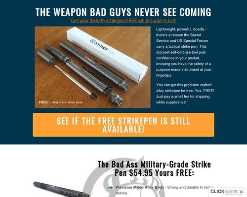 Ons is die # 1 taktiese pen in Amerika!