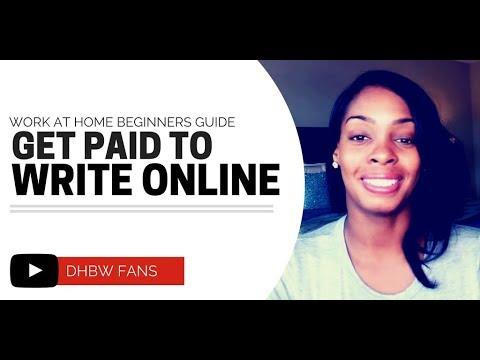Bezahlt werden, um Gedichte, Artikel, Online-Rezensionen und mehr zu schreiben!