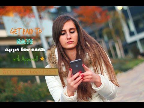Lassen Sie sich mit Ihrem Smartphone @ Apperwall für Apps bewerten