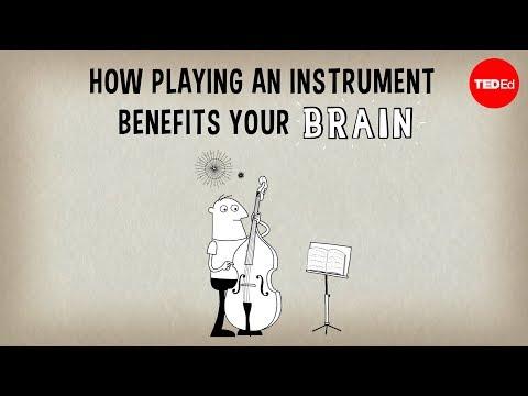 Wie das Spielen eines Instruments Ihrem Gehirn hilft – Anita Collins