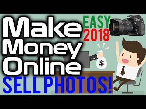 So arbeiten Sie von zu Hause aus und verdienen Geld mit dem Verkauf von Fotos online 2018 – Erhalten Sie den einfachen Job