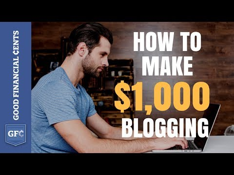 Verdienen Sie Geld Bloggen 💻: Von 0 bis 1.000 $ pro Tag (2018)