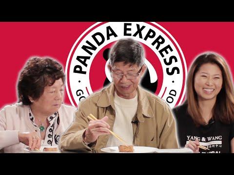 Chinesen versuchen zum ersten Mal Panda Express