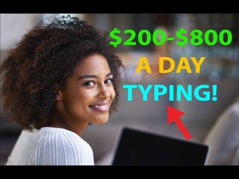 Verdienen Sie Geld, indem Sie 200 bis 800 Dollar pro Tag schreiben / schreiben! EINFACHER HACK!