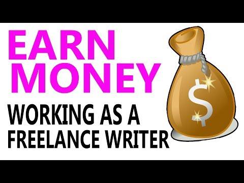 Wie werde ich freiberuflicher Schriftsteller? Verdienen Sie Geld zu schreiben