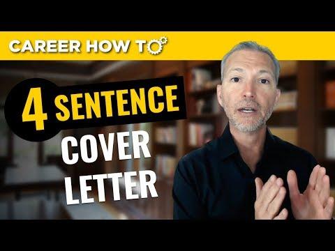 Das 4-Satz-Anschreiben, mit dem Sie das Vorstellungsgespräch erhalten