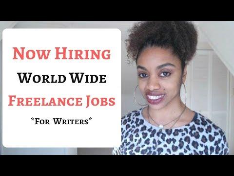 Bezahlt werden, um Artikel online zu schreiben + Freelance Jobs weltweit!