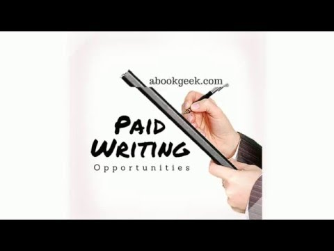 Bezahlt werden, um online zu schreiben