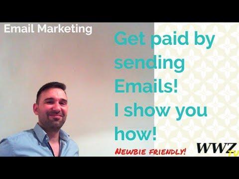 Wie verdient man online Geld? Werden Sie bezahlt, indem Sie E-Mails senden!
