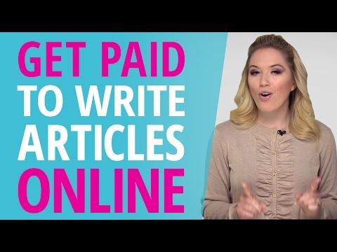 Bezahlen Sie, um Artikel online zu schreiben