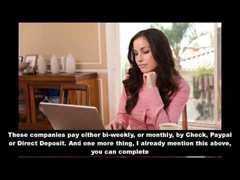 Bezahlt werden, um online bezahlte Schreibjobs zu schreiben