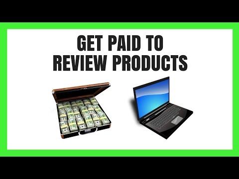 Wie man bezahlt bekommt, um Produkte zu überprüfen