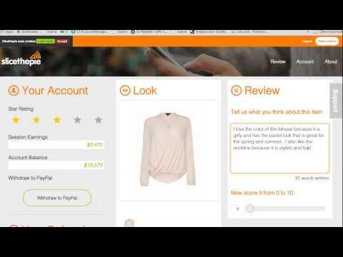 Lassen Sie sich für die Online-Überprüfung von Kleidung bezahlen