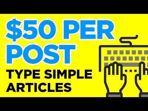 10 Sites, die pro Beitrag, den Sie schreiben, bezahlen