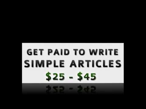 Wie man bezahlt, um online zu schreiben