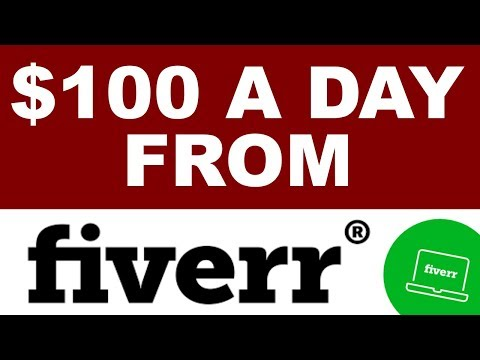Fiverr & amp; So werden Sie ein erfolgreicher Vermarkter – 100 US-Dollar pro Tag bei Fiv