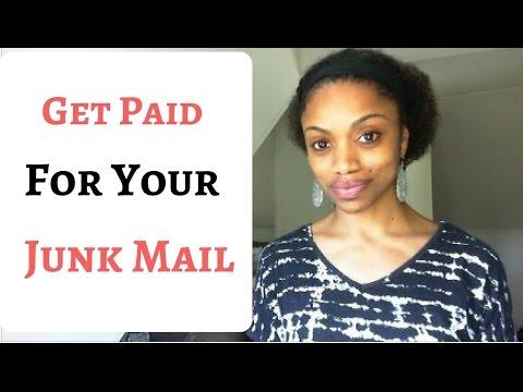 Holen Sie sich für Ihre Junk-Mail bezahlt!