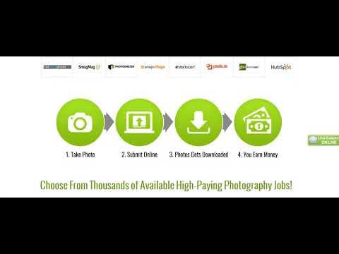Fotografie-Jobs Senden Sie Ihre Fotos online und lassen Sie sich bezahlen!