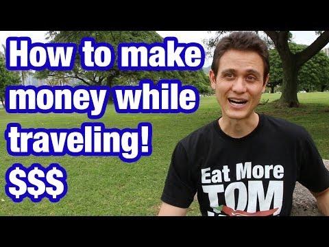 Wie ich Geld verdiene, wenn ich um die Welt reise (und esse)
