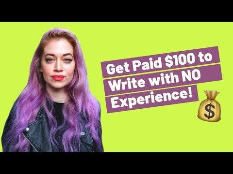7 FREIE SCHREIBEN JOBS ONLINE FÜR ANFÄNGER ($ 100 +!) | Zum Schreiben bezahlt werden!