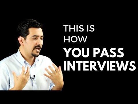 So führen Sie ein Vorstellungsgespräch durch – Interviewvorbereitung MasterClass ✓