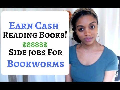 Zum Lesen bezahlt werden & amp; Überprüfen Sie Bücher. Bis zu 60 US-Dollar pro Lesung! ** Side Hustle für Bücherwürmer **