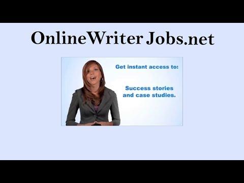 Schreiben von Jobs 2019 | Online zu schreiben