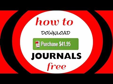 So laden Sie kostenpflichtige Zeitschriften kostenlos herunt