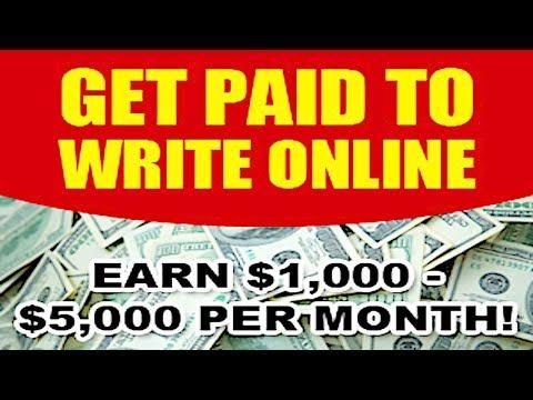 SCHREIBJOBS 2019 – Online bezahlt werden $ 187 pro Verkauf