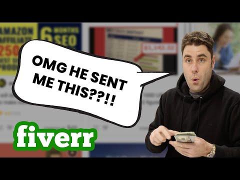 Ich habe Leute auf Fiverr bezahlt, um mir beizubringen, wie man online Geld verdient!