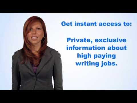 Schreiben von Jobs 2018 Online bezahlt werden $ 187 pro Verkauf. Verdienen Sie Geld, indem Sie online schreiben.