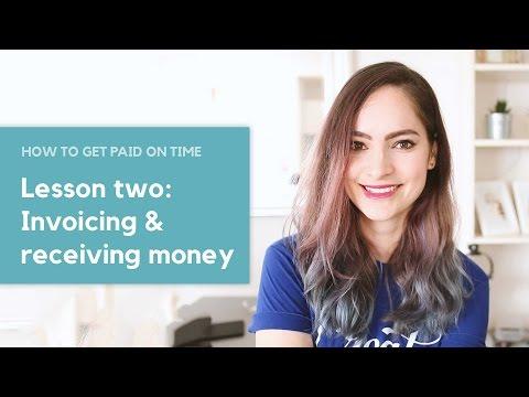 Pünktlich bezahlt werden – Lektion Zwei: Rechnungsstellung & amp; Geld empfangen – #AD