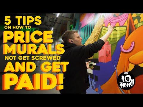 5 Tipps zum PREISEN IHRER MURALS, zum BEZAHLEN & amp; Nicht bekommen SCHRAUBE | Das Geschäft mit Wandmalereien Teil 2