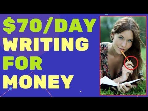 Lassen Sie sich bezahlen, um Artikel zu schreiben ✍ Writing For Money ✍ 2019 ✍✍✍