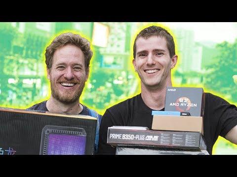 PC BILLIG in CHINA bauen ?! feat. Seltsame Teil