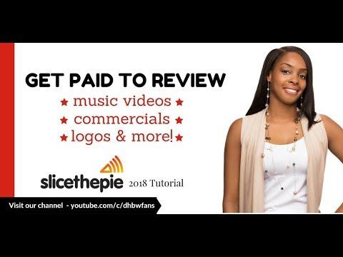 Slice the Pie 2018: Lassen Sie sich dafür bezahlen, Musikvideos, Werbung, Logos & amp; Mehr!