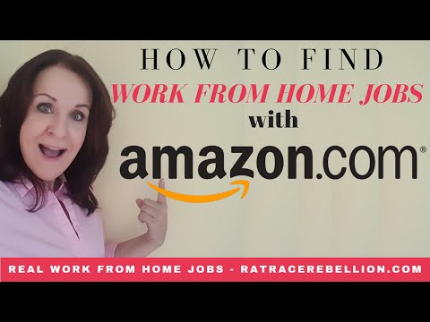 So finden Sie einen Job von zu Hause aus bei Amazon.com