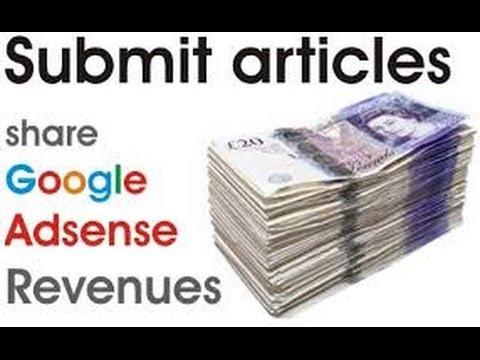 Werde dafür bezahlt, Artikel online zu schreiben – Aritcle Submission (Arbeit von zu Hause aus)