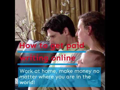 Wie Sie schriftlich online bezahlt werden