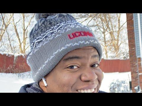 1 Fuß Schnee schaufeln