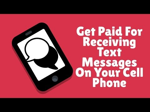 Für den Empfang von Textnachrichten auf Ihrem Handy bezahlt werden