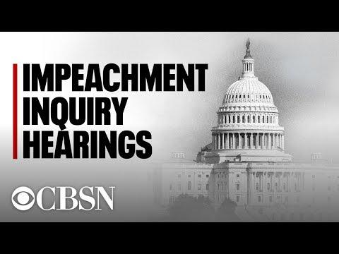 House Judiciary Committee hält erste Anhörung in der Trump Impeachment Inquiry, Live-Stream