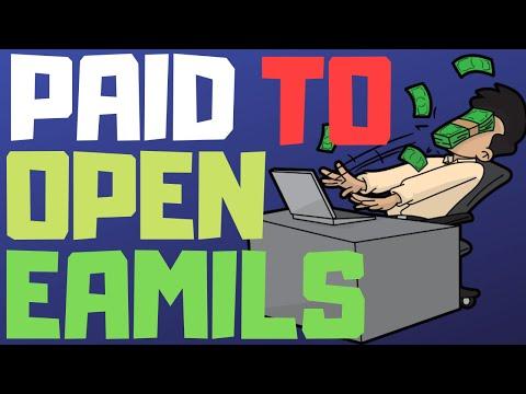 Für das Öffnen von E-Mails bezahlt werden (Wie man 2020 online Geld verdient)