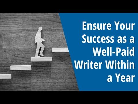 Stellen Sie Ihren Erfolg als gut bezahlter Autor innerhalb eines Jahres sicher – Ausgabe 2018