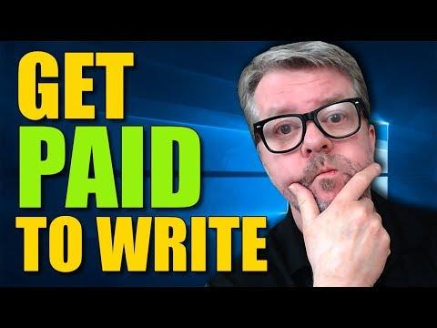 Wie man bezahlt wird, um zu schreiben